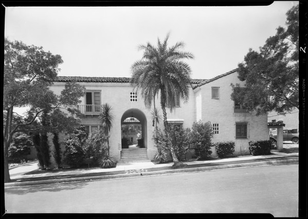 Court, 1275 North Hayworth Avenue, West Hollywood, CA, 1931