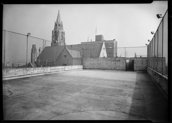 Roof of Immanuel Presbyterian Church, Southern California, 1930