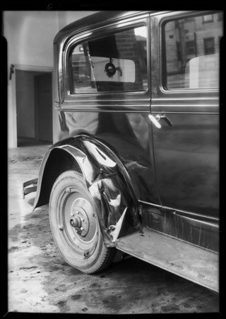 Chevrolet coach, Southern California, 1931