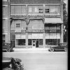Store building, 1221 South Wall Street, Los Angeles, CA, 1926