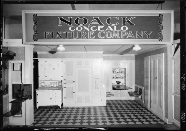 Noack Fixture Company, Southern California, 1926