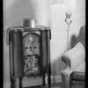 Console & midget model, Advance Electric, Southern California, 1931