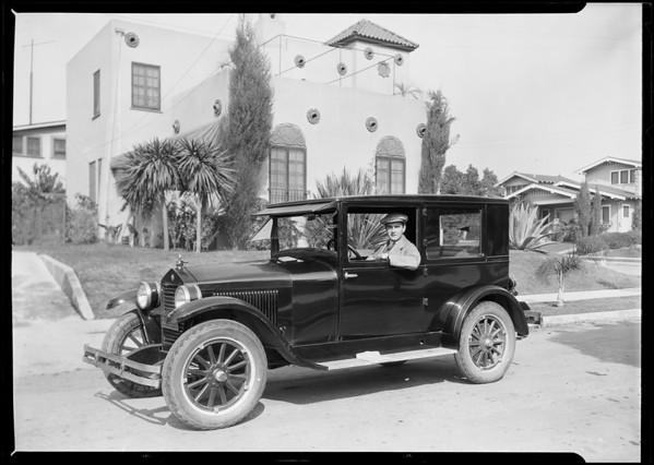 Gustaf Braun, Southern California, 1925