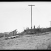 Construction of house at Highland Villa Park, Southern California, 1925
