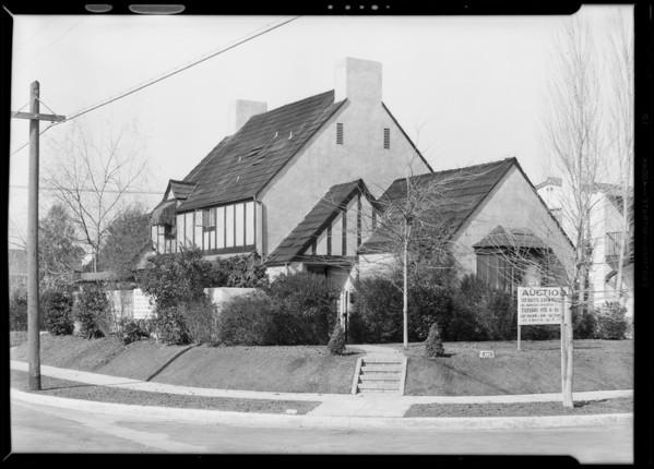 401 North Mansfield Avenue, Los Angeles, CA, 1930