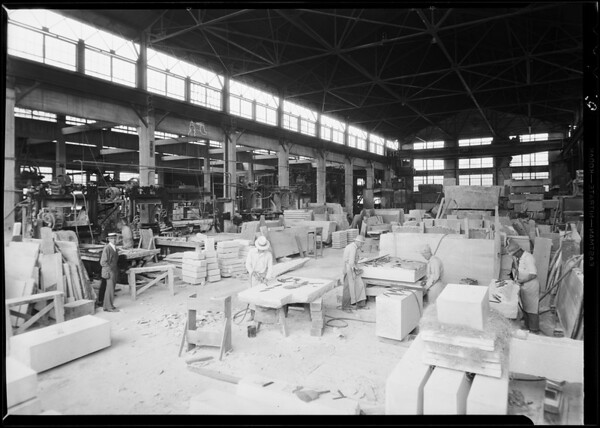 Coast Wholesale Stone & Marble Co. limited, 508 South Anderson Street, Los Angeles, CA, 1931