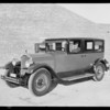 Tanner motor cars at Beaudy garage, Southern California, 1926