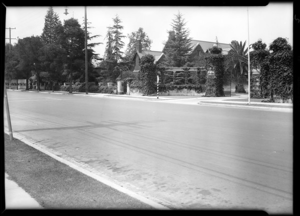 Intersection of West 22nd Street and South Western Avenue, Los Angeles, CA, 1931