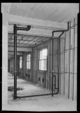 Steam, County Hospital, Los Angeles, CA, 1931