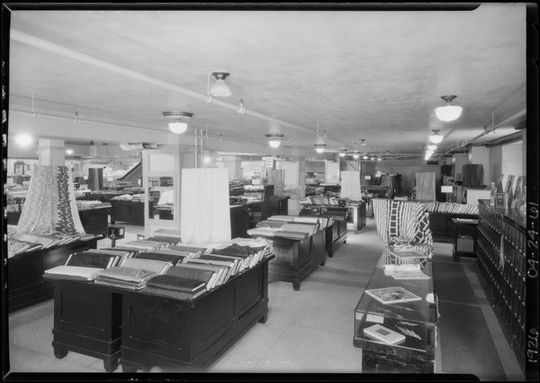 Basement views, Broadway Department Store, Los Angeles, CA, 1926