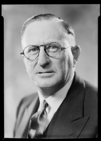 O.W. McBain, Southern California, 1931