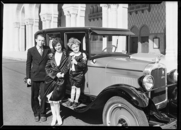 Louise & Chevrolet, Southern California, 1927