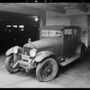 Jakobe's car, 350 South Olive, Los Angeles, CA, 1931