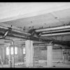 Plumbing installation, County Hospital, Los Angeles, CA, 1931