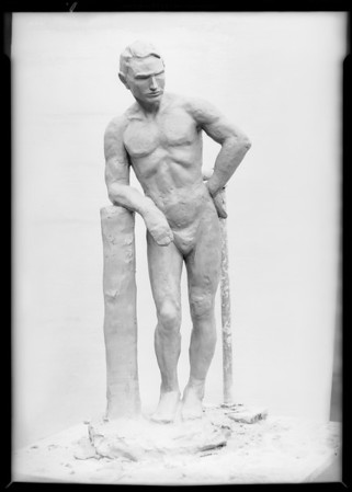 Clay model, Southern California, 1930