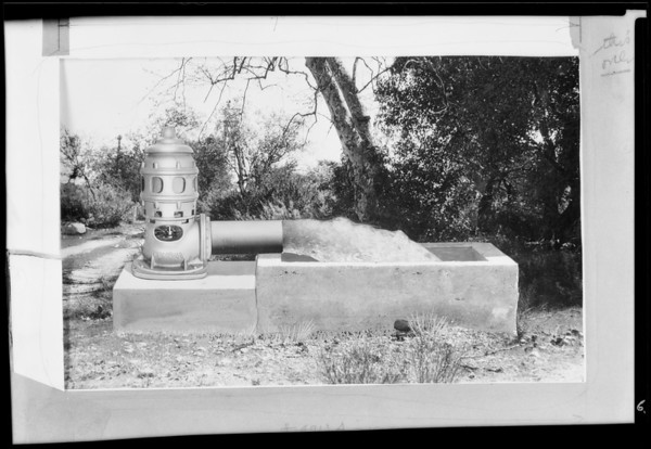 Pomona Pump, Southern California, 1931