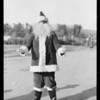 Marmon cars & Santa Claus, Southern California, 1926