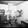 Refracting room, Dr. Moe's office, May Co., Southern California, 1931