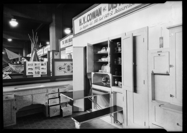 Shrine Auditorium exhibit, 665 West Jefferson Boulevard, Los Angeles, CA, 1926