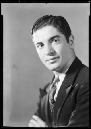 Former student, Joseph Barris, National Auto School, Southern California, 1930