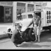Publicity shots, Frank Dillon, Southern California, 1931