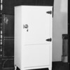 New electric refrigerator, Southern California, 1930