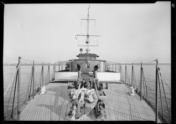 Interior & action shots of yacht Carissima, Southern California, 1929