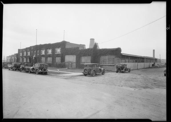 Empire China Co., Burbank, CA, 1931