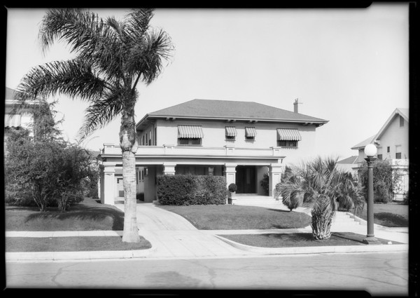 Houses for Mr. Brown, Southern California, 1926