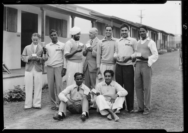 Indian team, Olympics, Los Angeles, CA, 1932