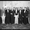 Amelia Earhart, Dahlia show, Southern California, 1932