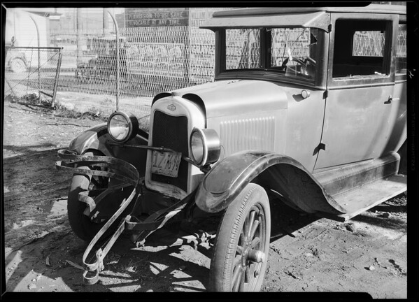 Chevrolet, Max Boxerbaum, owner, Southern California, 1931