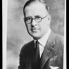 Copy of portrait of Mr. L.E. McCune, Southern California, 1930