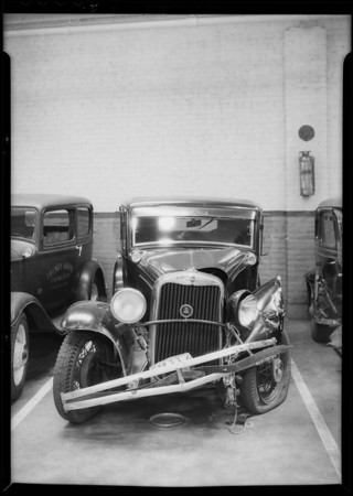 Dodge - Miss Amstell owner, Commercial Casualty, Southern California, 1935