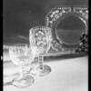Glassware, Southern California, 1931