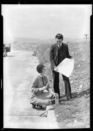 Oak Ridge tract, Southern California, 1930