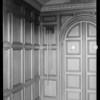 Installations of door chimes, Southern California, 1930