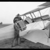 Air salesman, Gilfillan, Southern California, 1926