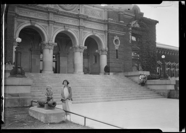 Natural History Museum of Los Angeles County, Exposition Park, Los Angeles, CA, 1924