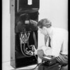 Meters, switches, load testers, etc., Diamond E. Electrical Co., Southern California, 1931