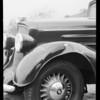 Oldsmobile - C.C. Koveny assured, Southern California, 1934