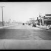 Intersection, Drexel Avenue & South Fairfax Avenue, Los Angeles, CA, 1931