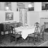 Dining room set-up, May Co., Southern California, 1931