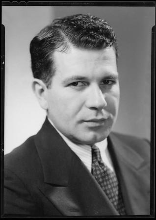 Portrait of John J. Edwards, Southern California, 1935