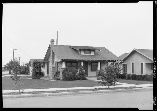 314 Maywood Avenue, Southern California, 1926