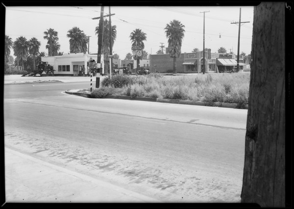 Intersection of West Slauson Avenue and South Van Ness Avenue, Los Angeles, CA, 1931
