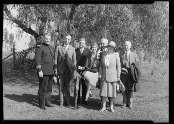 Breakfast club group, Southern California, 1930