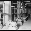 County Hospital, plumbing equipment, Los Angeles, CA, 1930