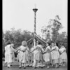 Barnsdall playground, May festival, Southern California, 1931