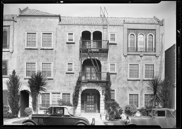 Apartments, etc., Southern California, 1931